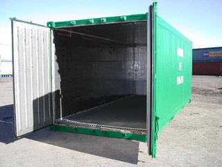 Insulated 20' Container